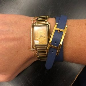 Hermes Hapi 3 leather wrap bracelet- Reversible!